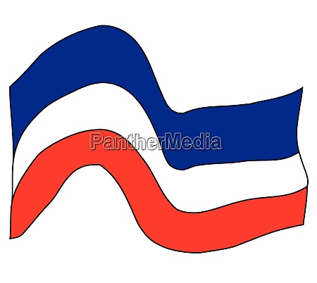 red white and blue patriotic splash