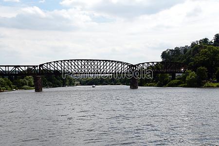 weser bridge former railway bridge