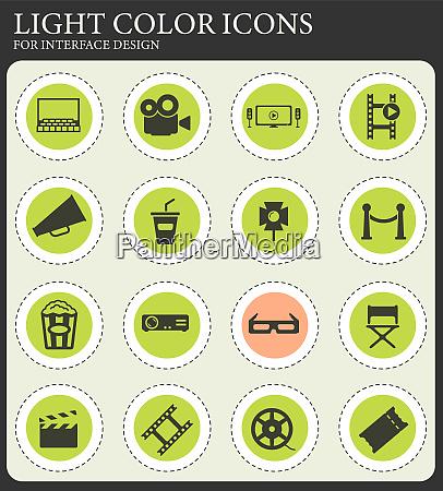 cinema simply icons