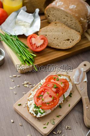 healthy breakfast homemade beer bread