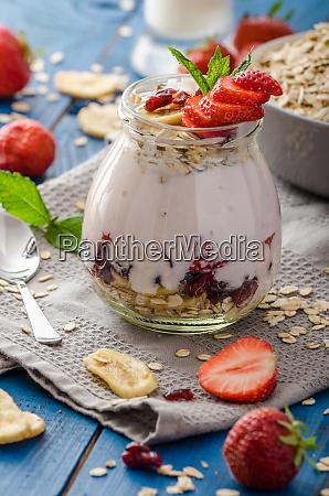 domestic strawberry yogurt