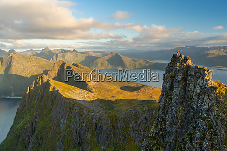man standing at the top of
