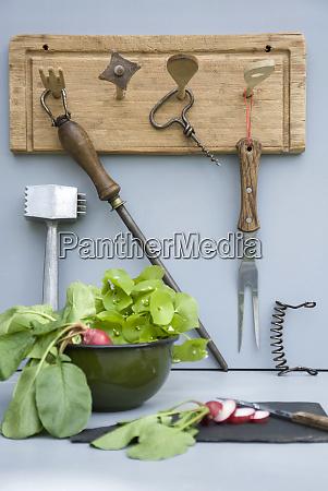 upcycled kitchen utensils