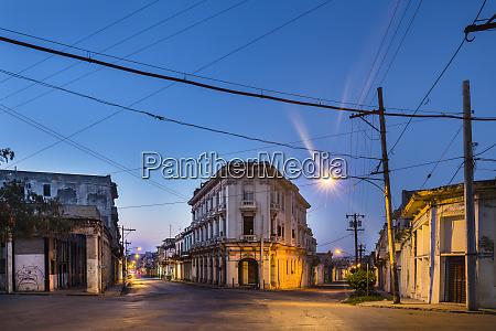empty streets havana cuba