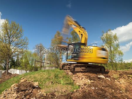 germany moving excavator