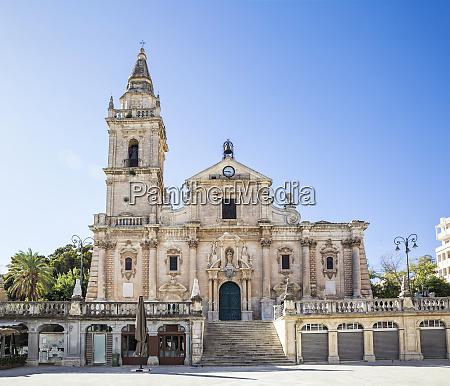 san giovanni cathedral ragusa sicily italy