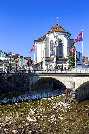 sankt mauritius church appenzell switzerland