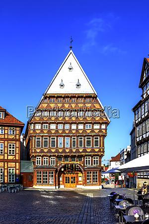 butchers guild hall hildesheim germany