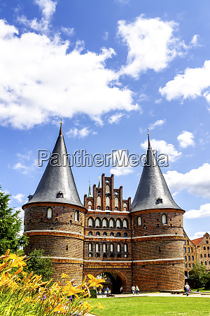 holsten gate luebeck germany