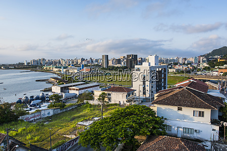 overlook over florianopolis brazil