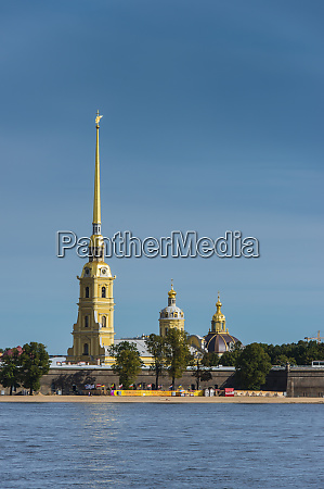 peter and paul fortress from the