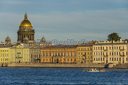 city center of st petersburg from