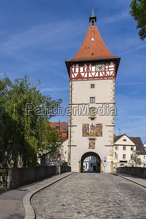 town gate waiblingen germany