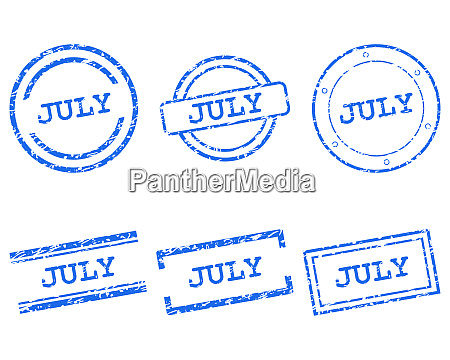 july stamps