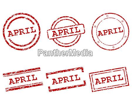 april stamps
