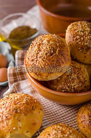 homemade cheese buns