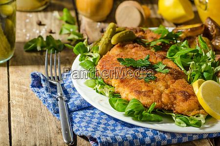 wiener schnitzel delicious schnitzel