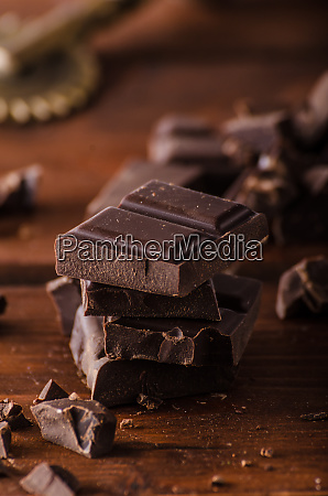 dark chocolate product