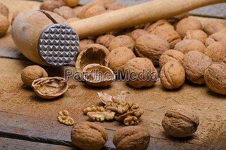 walnuts product photography