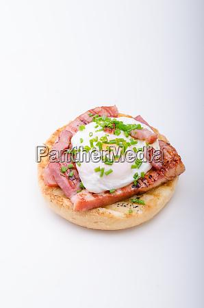 egg benedict delish food crispy bacon