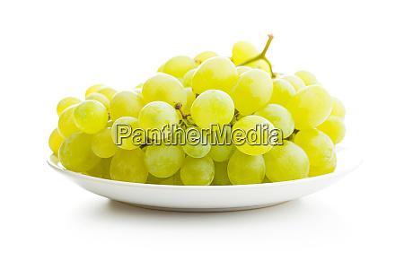 tasty green grapes white grape
