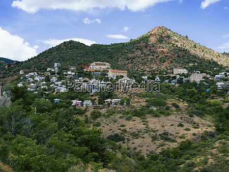 town of jerome arizona in southwest