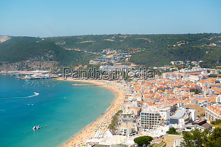 sesimbra beach in portugal