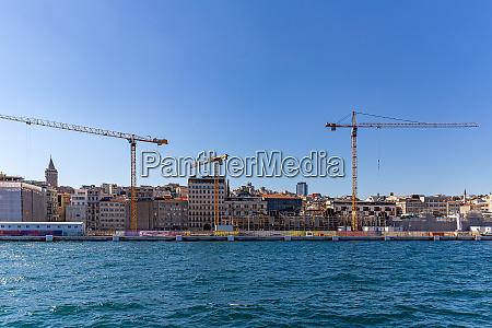 cranes in construction sites
