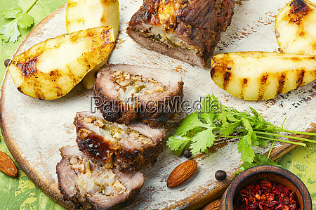 meatloaf with fruit and nuts