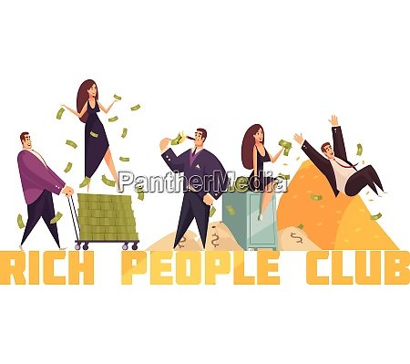 exclusive rich people celebrities club header
