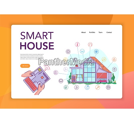 smart house internet of things intelligent