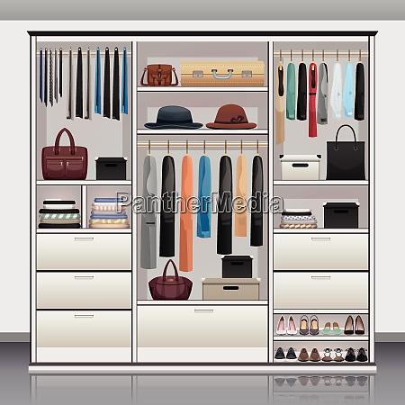 wardrobe accessories storage with drawers organizers