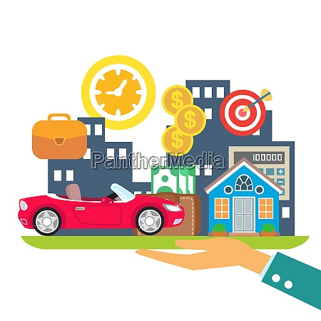 lifestyle in credit leasing and mortgage