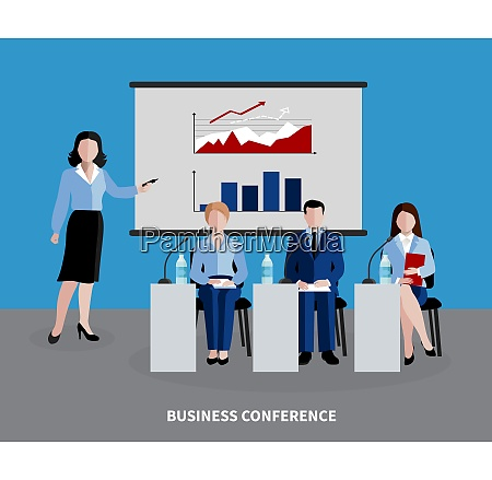 human resources background with four people