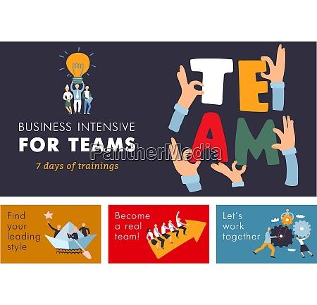 teamwork cooperation management training for