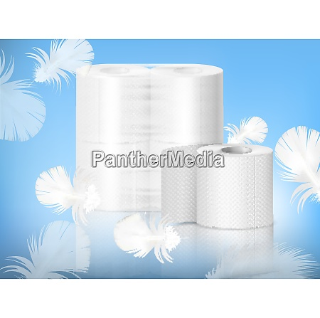white textured toilet paper single roll