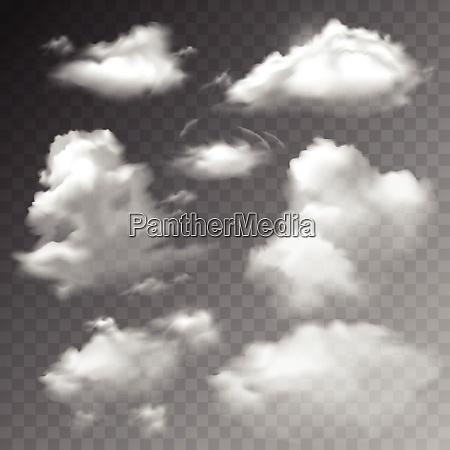 transparent clouds spring sunny weather cloudscape