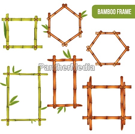 green and dry bamboo decorative interior