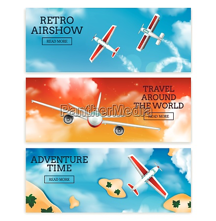 retro airshow and travel agency airlines