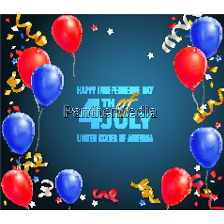 happy independence day of usa greeting