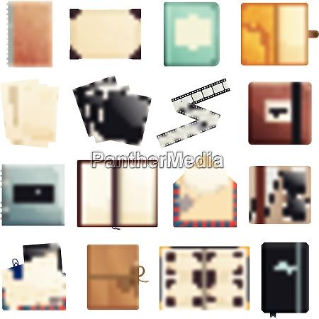 memories collection of photo album scrapbook