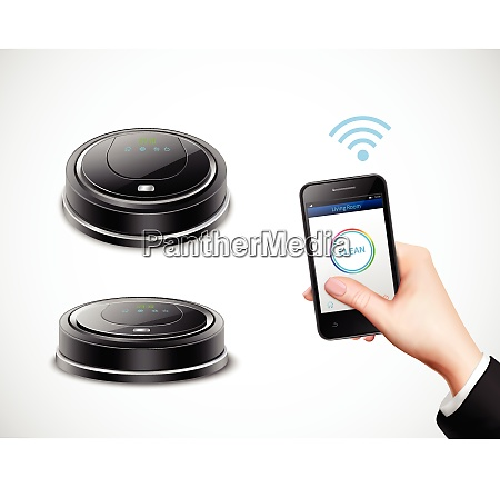 realistic robotic vacuum cleaner with wifi