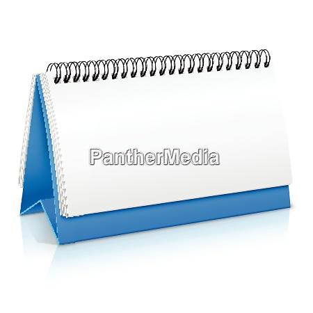 spiral desk business office paper calendar