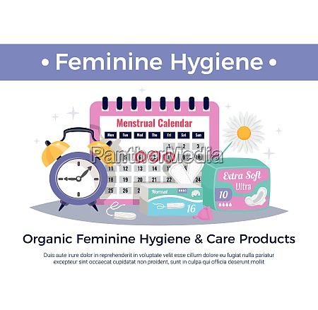 organic feminine hygiene and care products