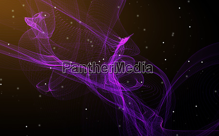 dark abstract background with a glowing