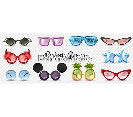 carnival party masquerade glasses diamond