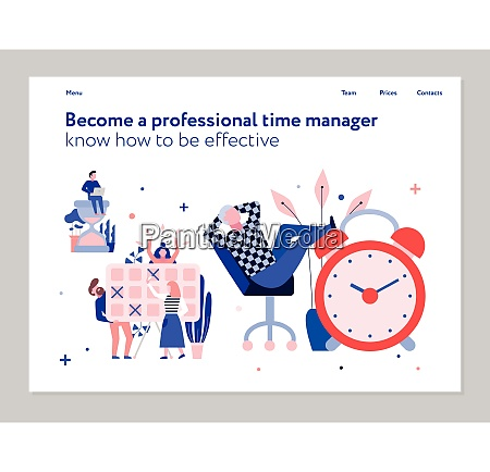 professional time management and effective planning
