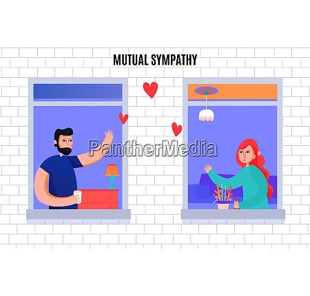 mutual sympathy between man and woman