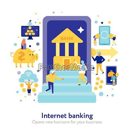 internet banking composition with electronic finance