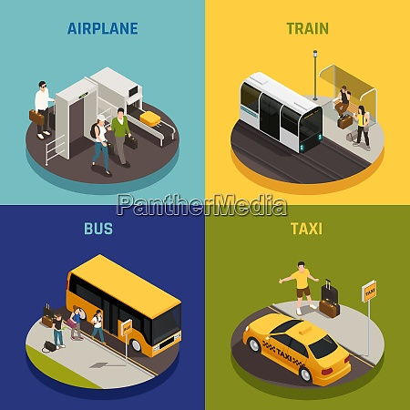 people with luggage during travel on